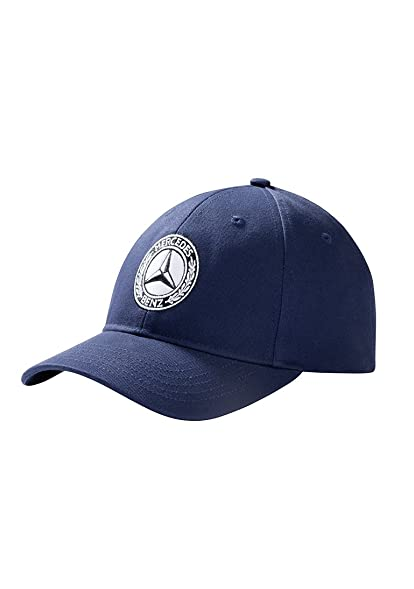 mercedes benz classic navy hat with vintage star at amazon men s rh amazon com