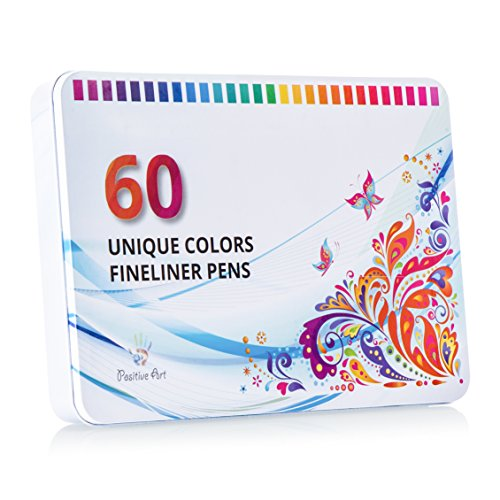 positive-art-fineliner-coloring-pen-set-60-unique-colors-with-metal-case-super-fine-tips-04-mm-adult