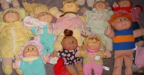 Old Original Vintage Cabbage Patch Kids Doll 1983 - 1989 Coleco - Blonde, Brunette, Red Head, Dark Hair, (Cabbage Patch Doll Clothes)