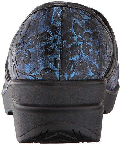 Easy Street Women's Origin Mule Blue Floral Tool T1TJwPJ