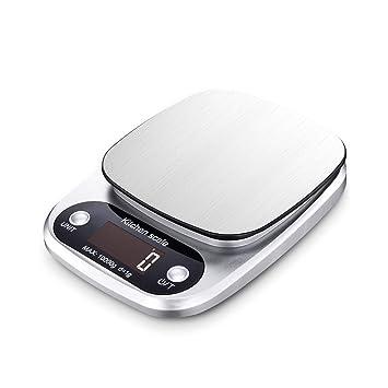 XF Básculas Digitales Balanzas de Cocina - comerciales, caseras de Alta precisión Cocinas pequeñas 0.1 de precisión para Hornear balanza electrónica de ...