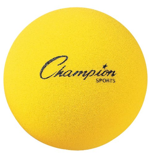 Champion Sports Uncoated Regular Density Foam Ball