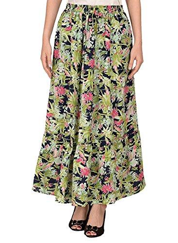 Free Size Handicrfats Export Breeze Cotton Cotton Multicolor Indian Women's Skirt 8qBHnwq6z