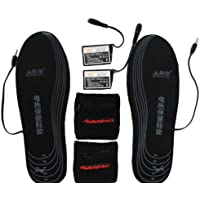 Warmspace Li-ion Battery Heated Insole Rechargeable Cut-to-Fit Size Outdoor