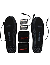 Warmspace Li-ion Battery Heated Insole Rechargeable Cut-to-Fit Size Outdoor (SE215L)