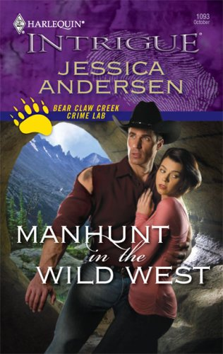book cover of Manhunt in the Wild West