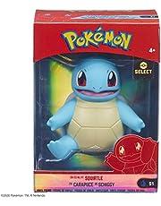 Pokemon 674 PKW2277 EA 10 cm Kanto vinylfigur-ekorre, färgglad