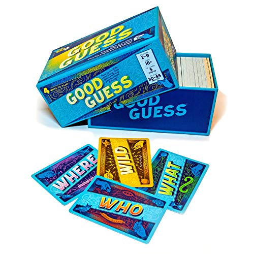 Good Guess: A Social Trivia Game...Race to Unriddle Intriguing Trivia Clues About Everyday Things. 309 Tantalizing Clue -