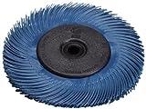 Scotch-Brite(TM) Radial Bristle Brush Replacement Disc T-C 400 Refill, Aluminum Oxide, 6000 rpm, 6 Diameter x 1 Width, Blue (Pack of 40)