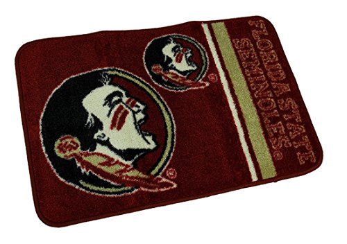 NCAA Officially Licensed Florida State Seminoles Non-Skid Throw Rug 20 x 30 inch
