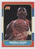 Dominique Wilkins (Basketball Card) 1986-87 Fleer - [Base] #121