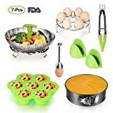 Cheap Accessories for Instant Pot – Pressure Cooker Accessories with Steamer Basket,Egg Shell Cutter,Egg Rack,Egg Bites Mold,Non-Stick Springform Pan,Tong,Silicone Mini Mitts,Fits to 3,5,6,8 Qt Instant Pot