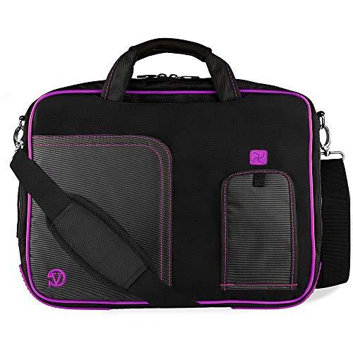 15.6 Inch Laptop Briefcase Shoulder Bag Compatible with HP Probook, Zbook, Essential, Omen, Pavilion, Spectre x360, Envy x360, Elitebook, Dell XPS 15, Inspiron 15, Precision