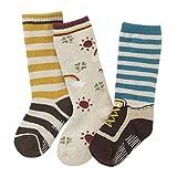 3 Pair Lovely Baby Boy's Winter Socks Cotton Tube Stockings Warm Socks D