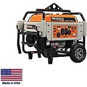 Portable Generator Commercial - 8,125 Watt - 8.1 kW - 120/240V - 16 Hp - Carb