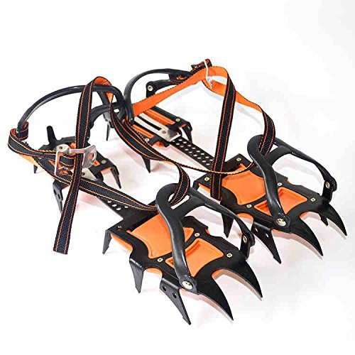 Extendable Traction Cleats/Crampon Hiking Camping Outdoor Anti-skidding Tool for Snow and Ice, Sold in Pair by LightInTheBox