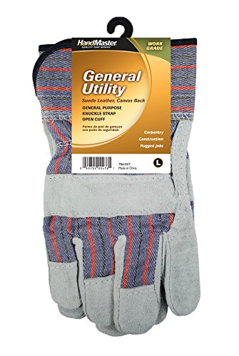 magid-tb635et-work-grade-promotional-gunn-pattern-leather-palm-glove-with-safety-cuff-pearl-gray