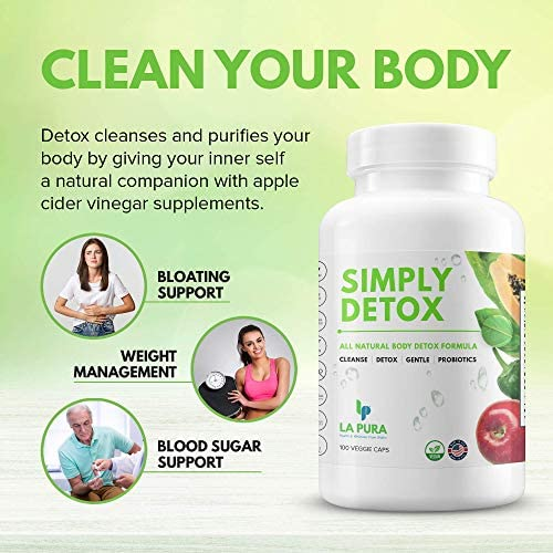 Super Detox & Colon Cleanse for Weight Loss & Gut Support, Natural Cleanser for Women to Lose Belly Fat Fast – Constipation & Bloating Relief, Flatter Stomach + Detoxification, 100 Debloat Pills 6