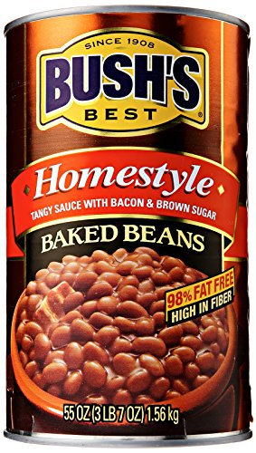Price comparison product image Bush's Best Homestyle Baked Beans,  55 oz