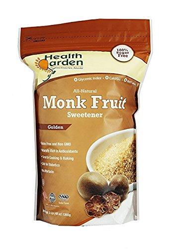 Health Garden Kosher Monk Fruit Sweetener, Golden, 3 lb. (pack of (Kosher Sweetener)