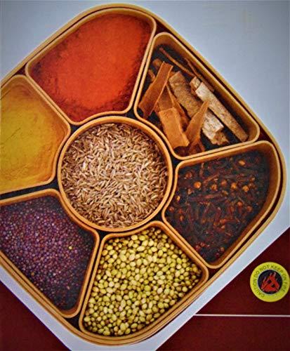 MIR9 MIR Woven Sq Masala Rangoli Box (Dabba) – 7 Sections, 700ml, Assorted Colour (Multicolour). Price & Reviews