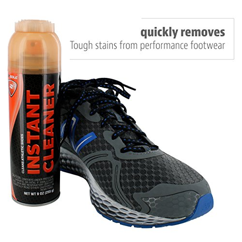 Sof Sole Instant Cleaner Foaming Stain Remover for Athletic Shoes, 9-Ounce by Sof Sole (Image #2)