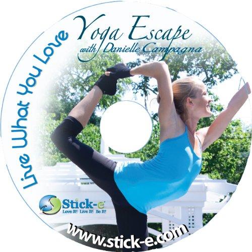 Stick-e Live What You Love Yoga Escape with Danielle Campagna DVD