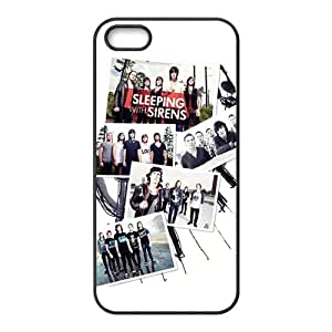 Sleeping With Sirens Fashion Comstom Plastic case cover For Iphone 5s
