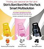 Facial Mask Oatmeal Homemade - (Pack of 3) Skin's Boni Boni Mini Facial Mask Pack, Wash-off type, Korean Skin Care (Trio Pack)