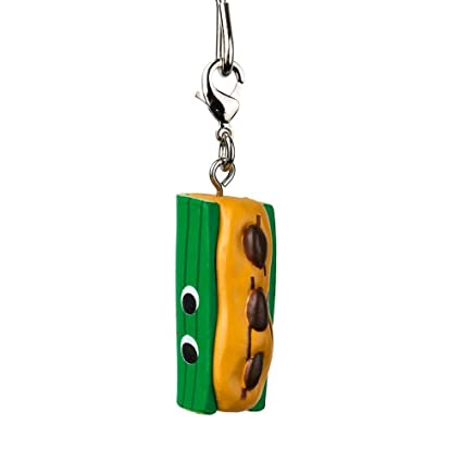 Kidrobot Yummy World Red Carpet Key Chain Soft Serve Sally
