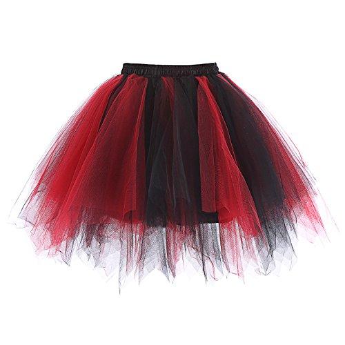 Womens Vintage Petticoat Crinoline Underskirt