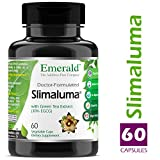 Slimaluma - Caralluma Fimbriata + Green Tea Weight Loss Support, Helps Suppress Appetite, Improves Fat-Oxidation - Emerald Laboratories (Fruitrients) - 60 Vegetable Capsules