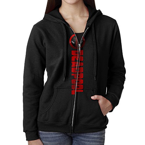 Deadpool Movie Hoodie Black ()