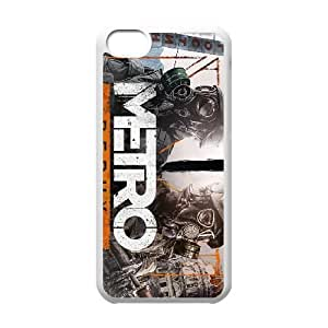 games Metro Redux Game Poster iPhone 5c Cell Phone Case White Present pp001-9494582