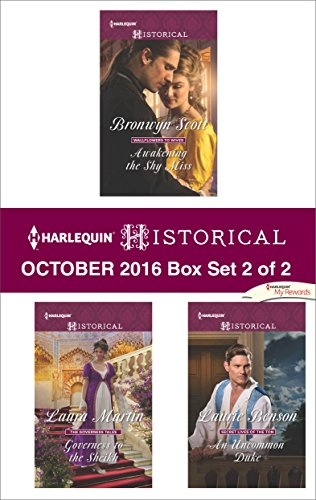 book cover of Harlequin Historical October 2016 - Box Set 2 of 2