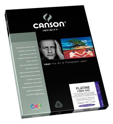 Canson Infinity- Platine Fiber Rag 310gsm (Twenty-…
