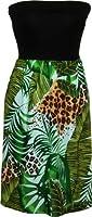 RJC Womens Wild Paradise Jungle Knit Top Sundress