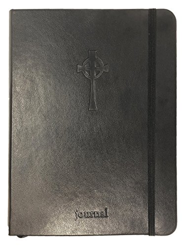 The Celtic Cross Essential Journal (Black Leatherluxe(r))