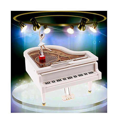 Classical Piano Music Box Ballet Dancer Dancing Ballerina Musical Toy