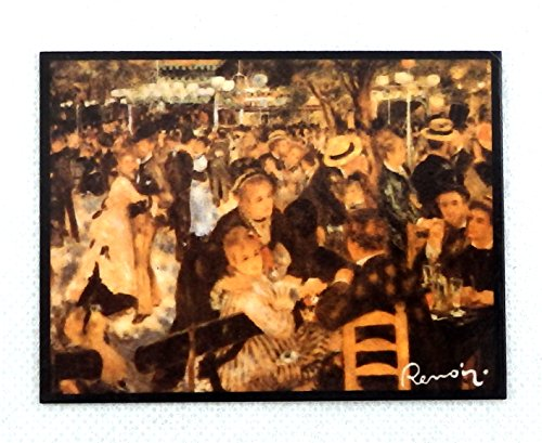Melody Jane Dolls Houses House Miniature Renoir Dance Bal Du Moulin De La Galette Painting (Renoir Picture)