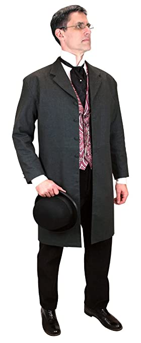 1900s Edwardian Men's Suits and Coats Callahan Frock Coat $159.95 AT vintagedancer.com