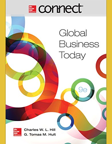 Connect 1-Semester Access Card for Global Business Today