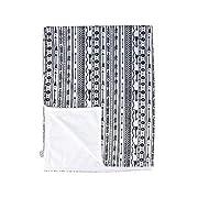 Towin Baby Arrow Minky Double Layer Receiving Blanket, Aztec Arrow 30 x40  …