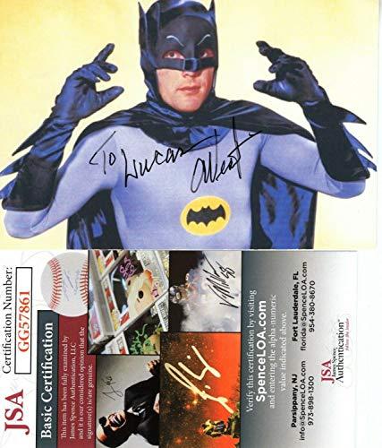 Adam West Autographed Signed Actor Batman Hand Autograph 3.5x5.5 Photo With JSA COA