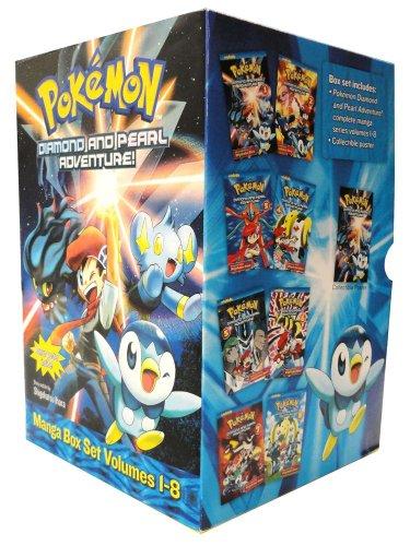 Pokémon Diamond and Pearl Adventure! Box Set (Pokemon) by VIZ Media, LLC (Image #1)