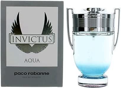 Invictus Aqua by Paco Rabanne Eau De Toilette Spray 3.4 oz / 100 ml (Men)