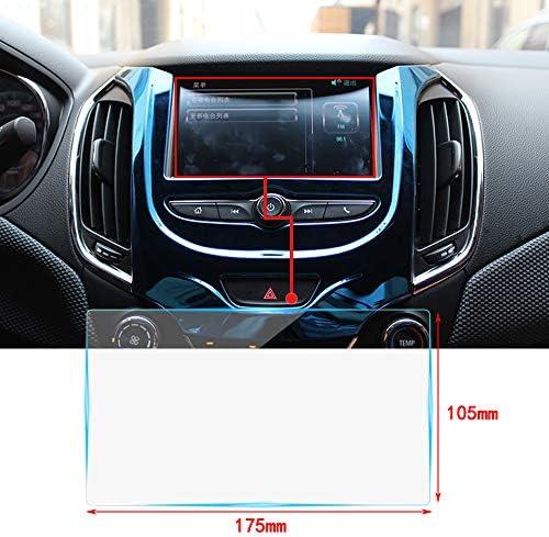 [해외]8 인치 내비게이션 보호 필름 강화 유리 액정 보호 필름 고 경도 9H 충격 반사 감소 보호 지문 방지 거품 제로 스크래치 방지 높은 투과율 초박형 0.25 mm (175 * 105mm) / 8 inch car navigation system protective film tempered glass LIQUID CRY...