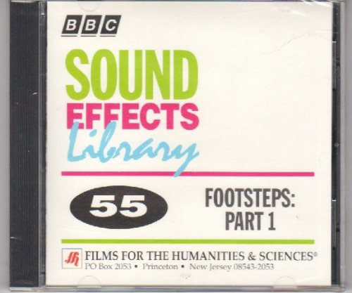 Sound Effects Library #55 Footsteps Part 1