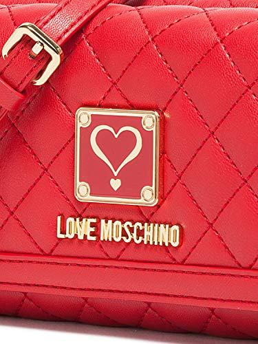Rosso Love A Moschino Donna Mano Borsa wnHRX0