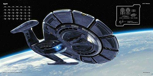 Star Trek 2016 Wall Calendar Ships Of The Line Import